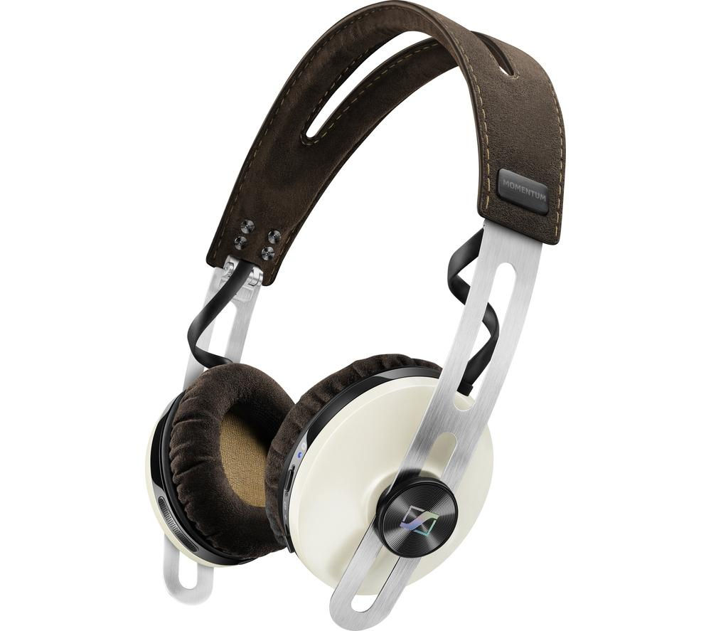 Click to view more of SENNHEISER  Momentum 2.0 O/E Wireless Bluetooth Noise-Cancelling Headphones - Ivory, Ivory
