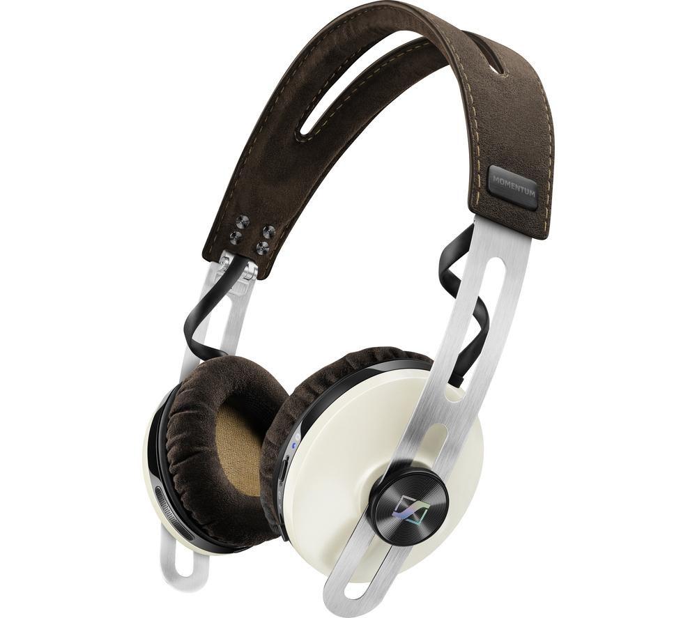 SENNHEISER Momentum 2.0 O/E Wireless Bluetooth Noise-Cancelling Headphones - Ivory