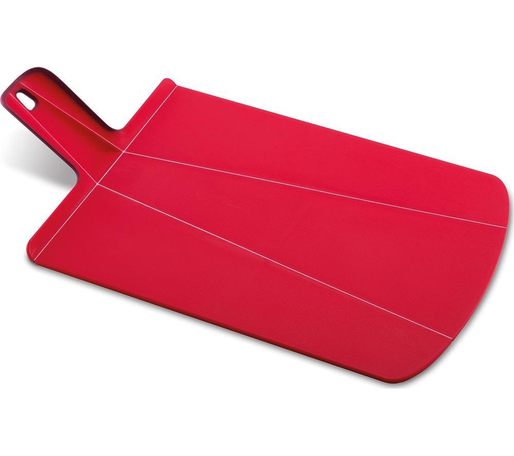 JOSEPH JOSEPH  Chop2Pot Plus Large Chopping Board  Red Red