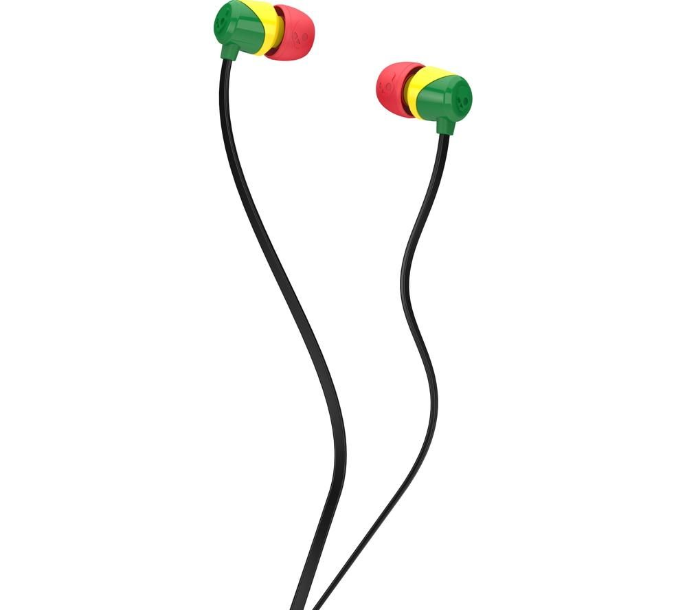 Skullcandy Skullcandy Jib Headphones  Rasta