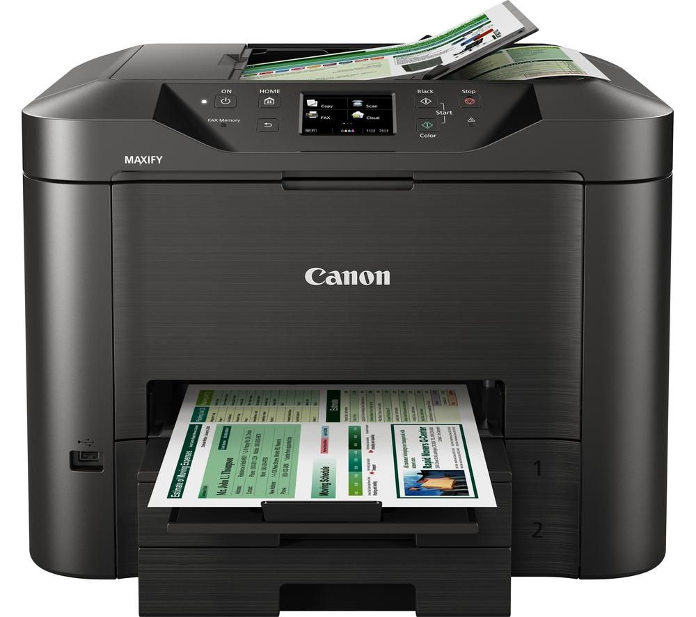 Image of Canon MAXIFY MB5350 All-in-One Wireless Inkjet Printer with Fax