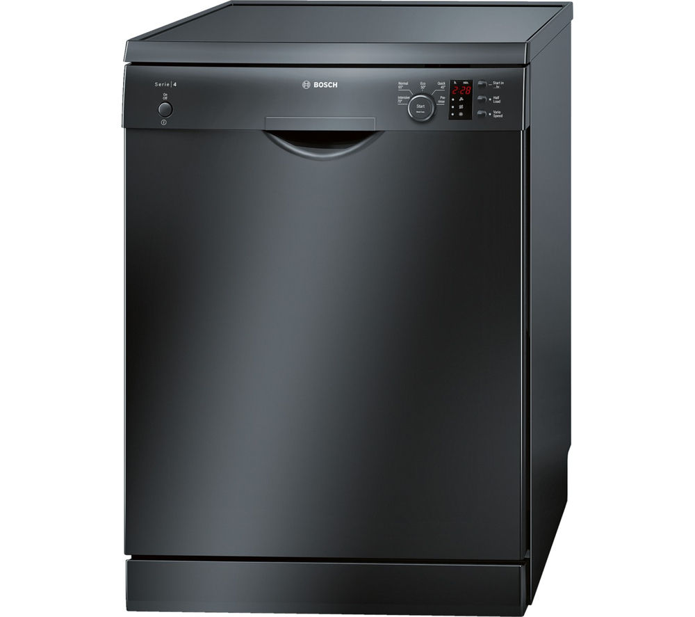 buy bosch sms50c26uk full size dishwasher black maxx 8. Black Bedroom Furniture Sets. Home Design Ideas