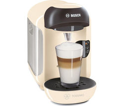 TASSIMO by Bosch Vivy II TAS1257GB Hot Drinks Machine - Cream