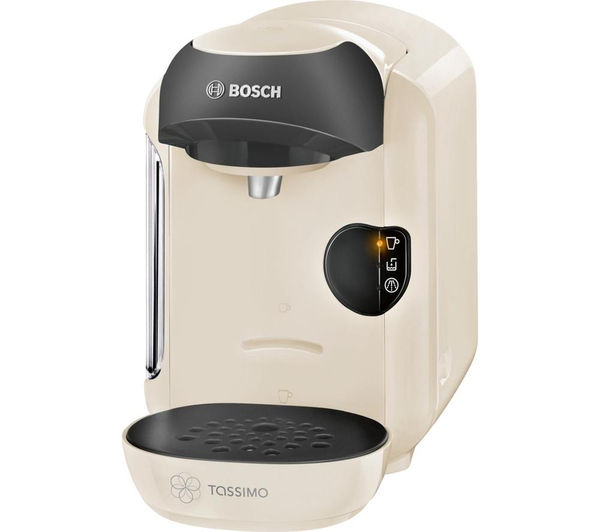 buy tassimo by bosch vivy ii tas1257gb hot drinks machine cream free delivery currys. Black Bedroom Furniture Sets. Home Design Ideas