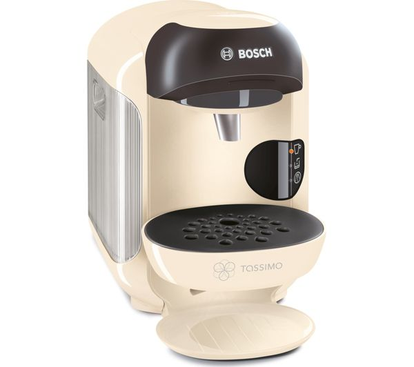 Bosch Tassimo Coffee Maker T Discs : Buy TASSIMO by Bosch Vivy II TAS1257GB Hot Drinks Machine - Cream + Costa Cappuccino T Discs ...