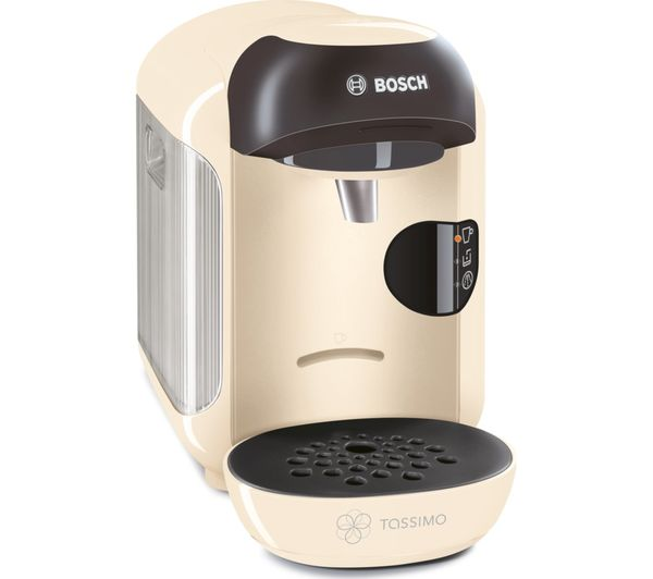 Buy TASSIMO by Bosch Vivy II TAS1257GB Hot Drinks Machine - Cream Free Delivery Currys