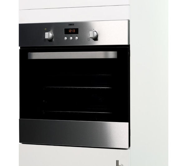 Stainless steel kitchen appliances - Buy Zanussi Zob353x Electric Oven Stainless Steel Free