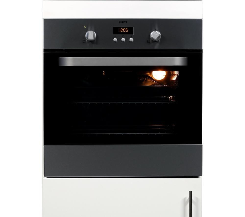 ZANUSSI  ZOB353X Electric Oven - Stainless Steel +  ZEI6740BBA Electric Induction Hob - Black