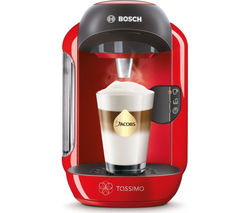 TASSIMO by Bosch Vivy II TAS1253GB Hot Drinks Machine - Red