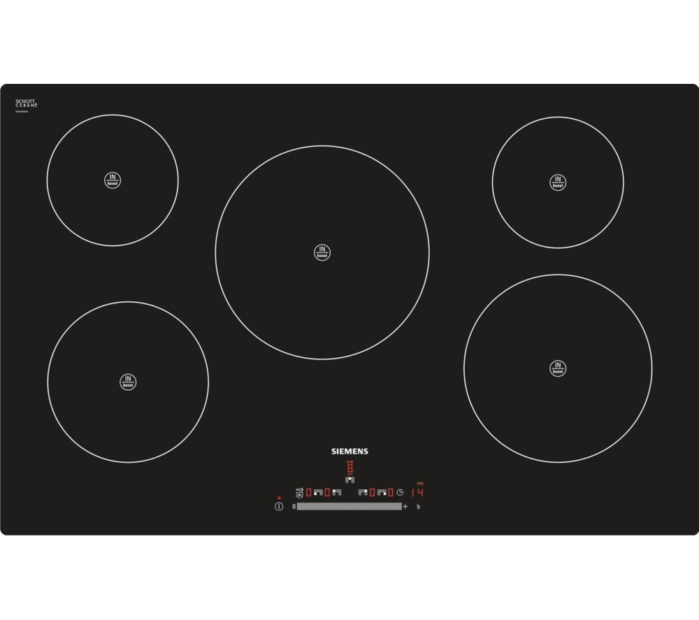 SIEMENS EH801FM17E Electric Induction Hob - Black
