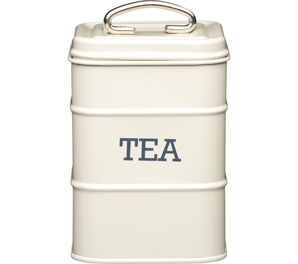 KITCHEN CRAFT Living Nostalgia Vintage Tea Canister - Cream