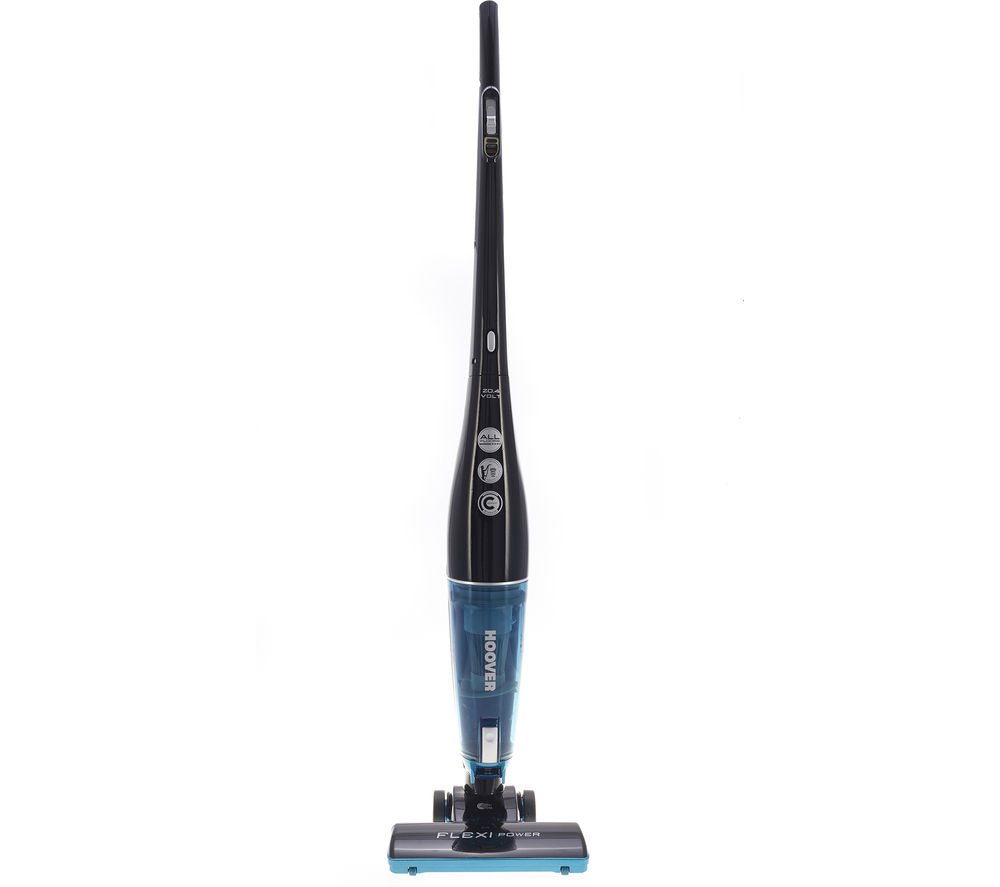 HOOVER Flexi Power SU204B2 Cordless Bagless Vacuum Cleaner - Black & Blue