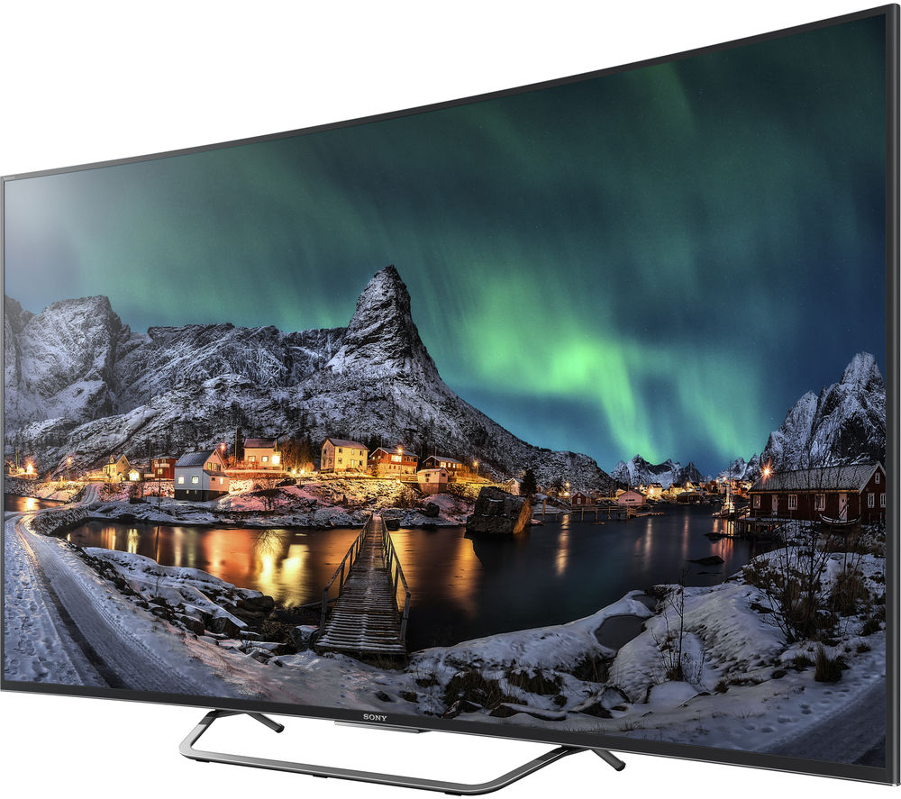 buy sony bravia kd 55s8005cbu smart 3d ultra hd 4k 55 curved led tv free delivery currys. Black Bedroom Furniture Sets. Home Design Ideas