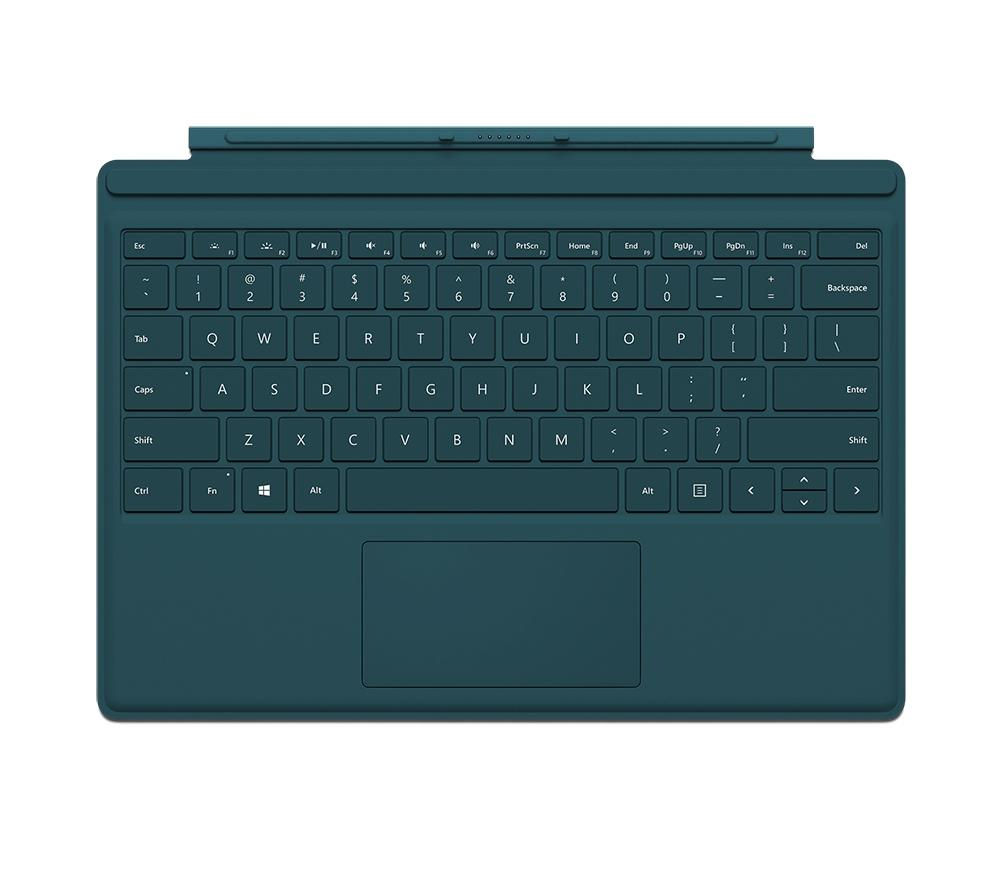 MICROSOFT Surface Pro 4 Typecover - Teal