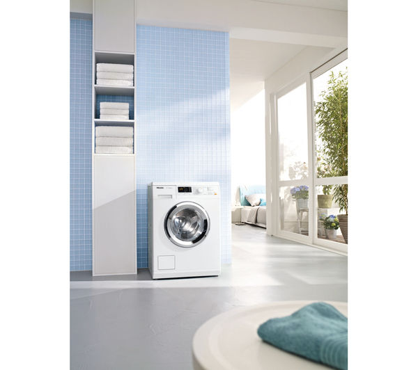 buy miele wda 111 washing machine white free delivery currys. Black Bedroom Furniture Sets. Home Design Ideas