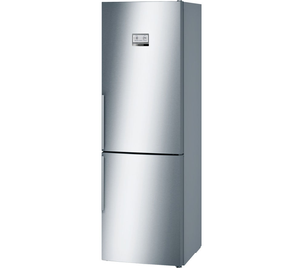 BOSCH  Serie 6 KGN36AI35G Smart Fridge Freezer  Silver Silver