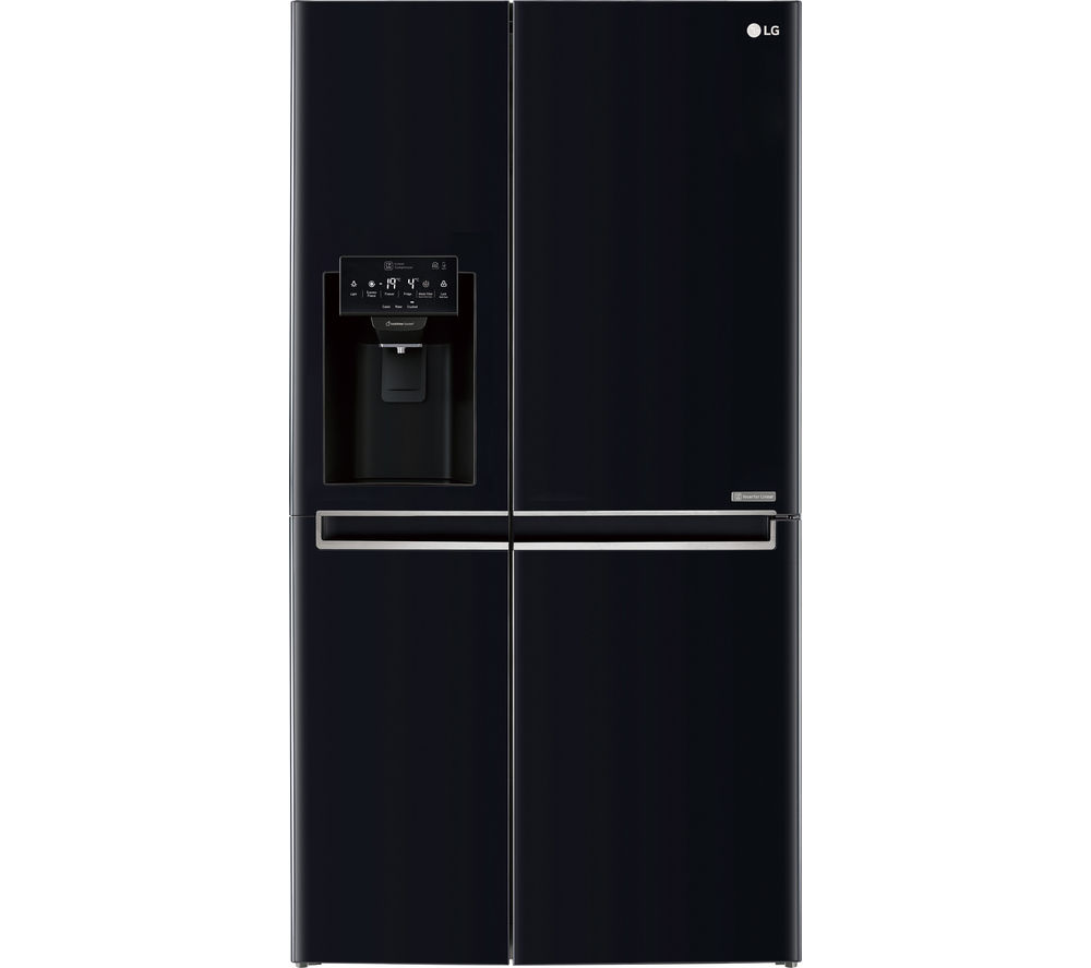 LG GSL760WBXV American-Style Fridge Freezer - Black