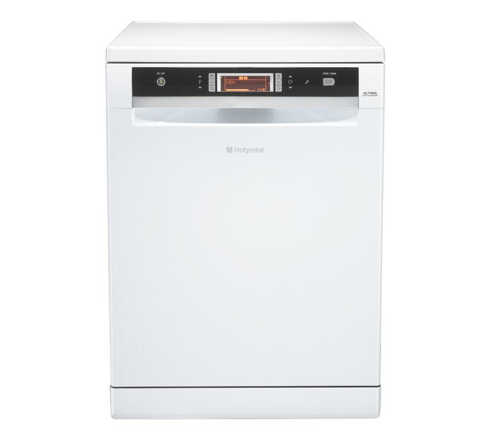 HOTPOINT  Ultima FDUD 43133P Fullsize Dishwasher  White White