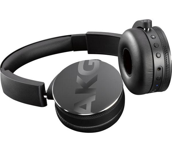 Image of AKG Y50BT Wireless Bluetooth Headphones - Black