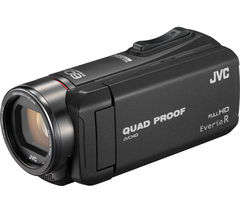 JVC GZ-R415BEK Traditional Camcorder - Black