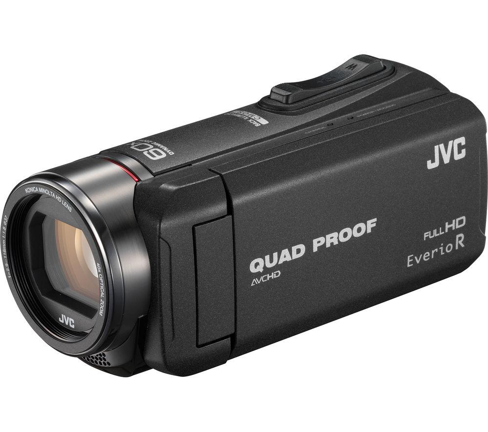 JVC GZ-R415BEK Camcorder - Black