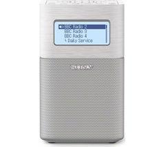 SONY XDRV1BTDW Portable DAB+/FM Radio - White