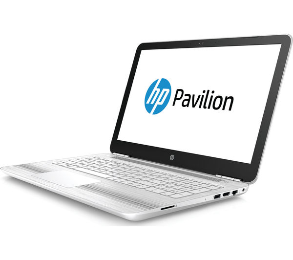 buy hp pavilion 15 au076sa 15 6 laptop white free delivery currys. Black Bedroom Furniture Sets. Home Design Ideas