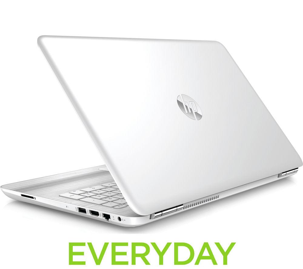 "Image of HP Pavilion 15-au076sa 15.6"" Laptop - White"