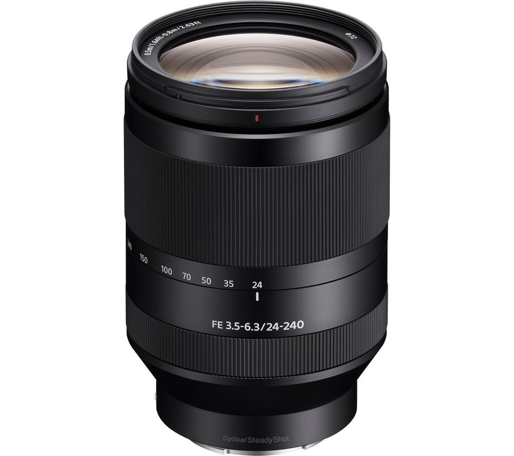 SONY SEL24240 FE 24-240 mm f/3.5-6.3 OSS Telephoto Zoom Lens
