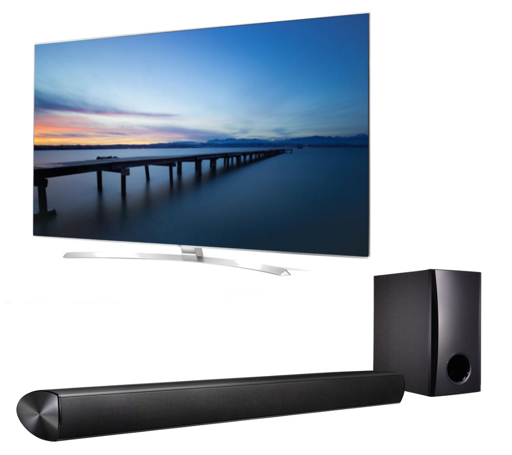 buy lg 65uh950v smart 3d 4k ultra hd hdr 65 led tv 2 1 sound bar bundle free delivery currys. Black Bedroom Furniture Sets. Home Design Ideas