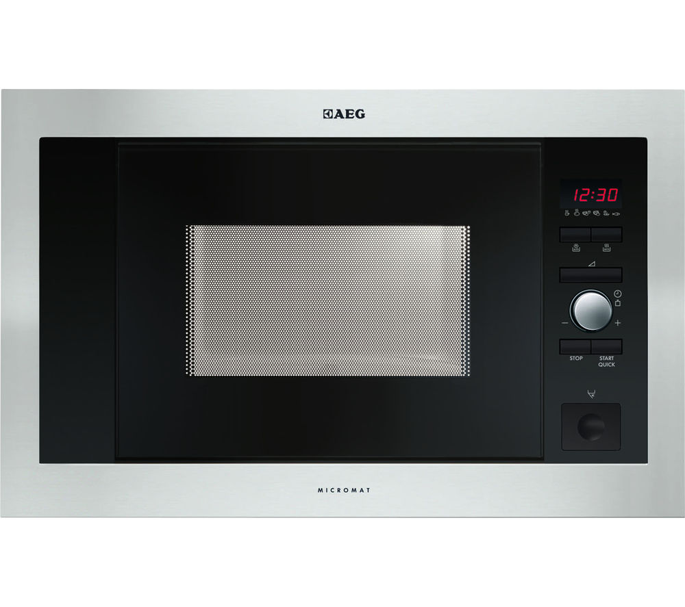AEG  MC1763EM Builtin Solo Microwave  Stainless Steel Stainless Steel
