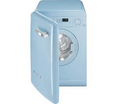 SMEG WMFABAZ1 Washing Machine - Pastel Blue