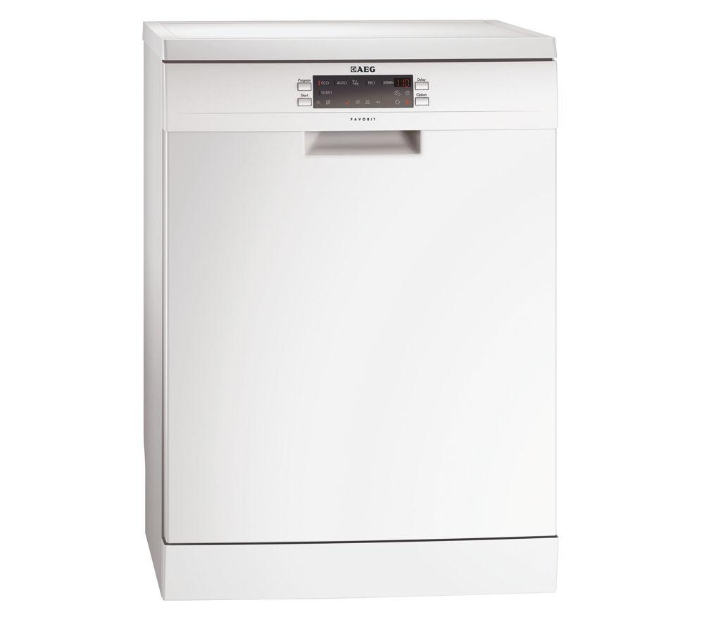 AEG  F66609W0P Fullsize Dishwasher  White White