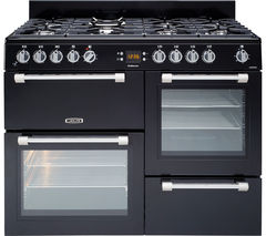 LEISURE Cookmaster CK110F232K Dual Fuel Range Cooker - Black & Chrome