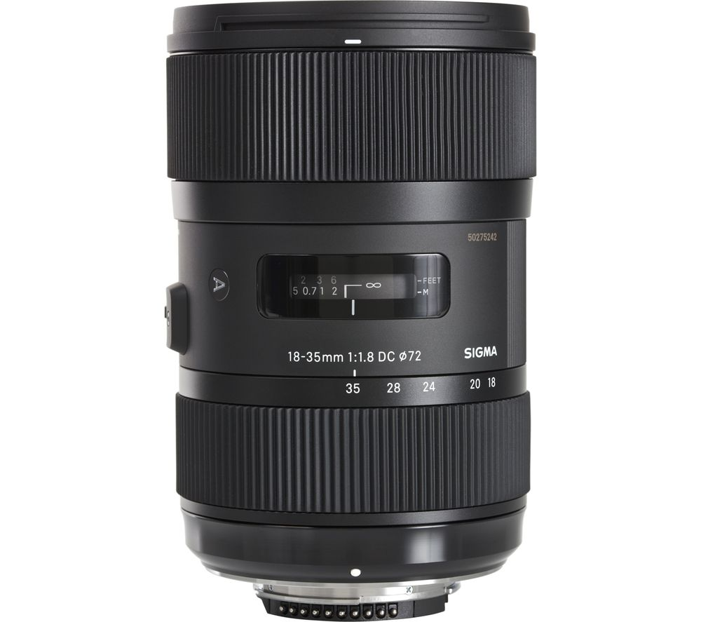 SIGMA 18-35mm f/1.8 DC HSM Standard Zoom Lens - for Nikon