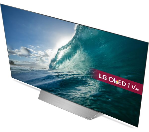 lg oled55c7v 55 smart 4k ultra hd hdr oled tv deals pc world. Black Bedroom Furniture Sets. Home Design Ideas