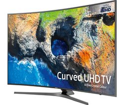 "SAMSUNG UE65MU6670 65"" Smart 4K Ultra HD HDR Curved LED TV"