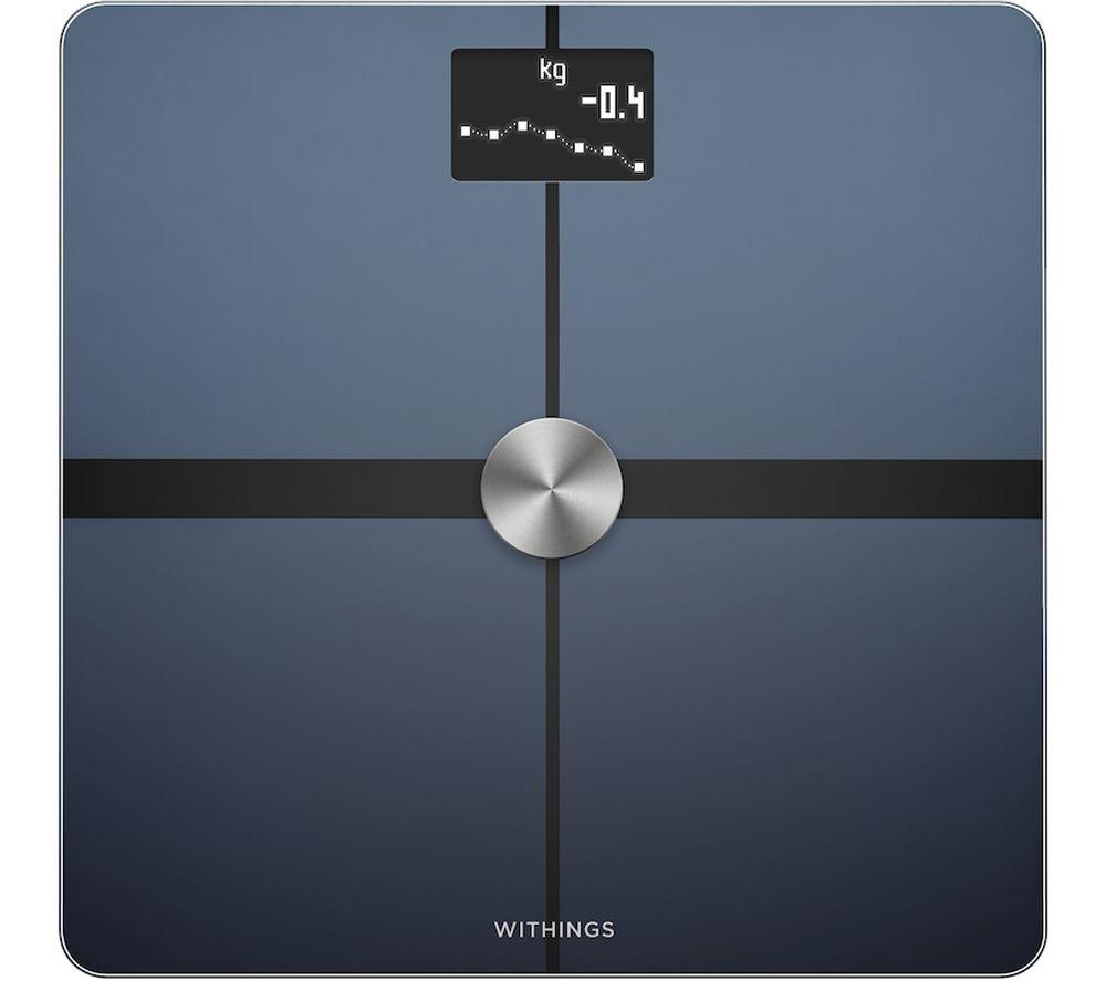 NOKIA Body+ WS-45 Body Composition Smart Scale - Black