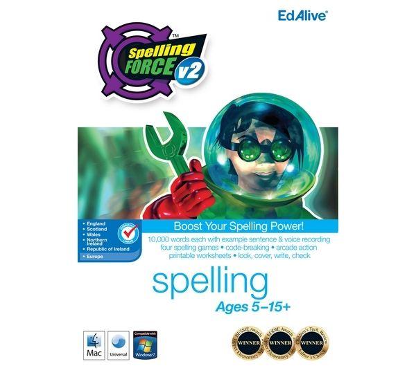EDALIVE Spelling Force V2