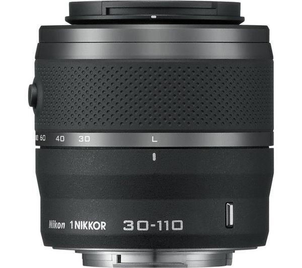 Image of NIKON 1 NIKKOR VR 30-110 mm f/3.8-5.6 STM Telephoto Zoom Lens
