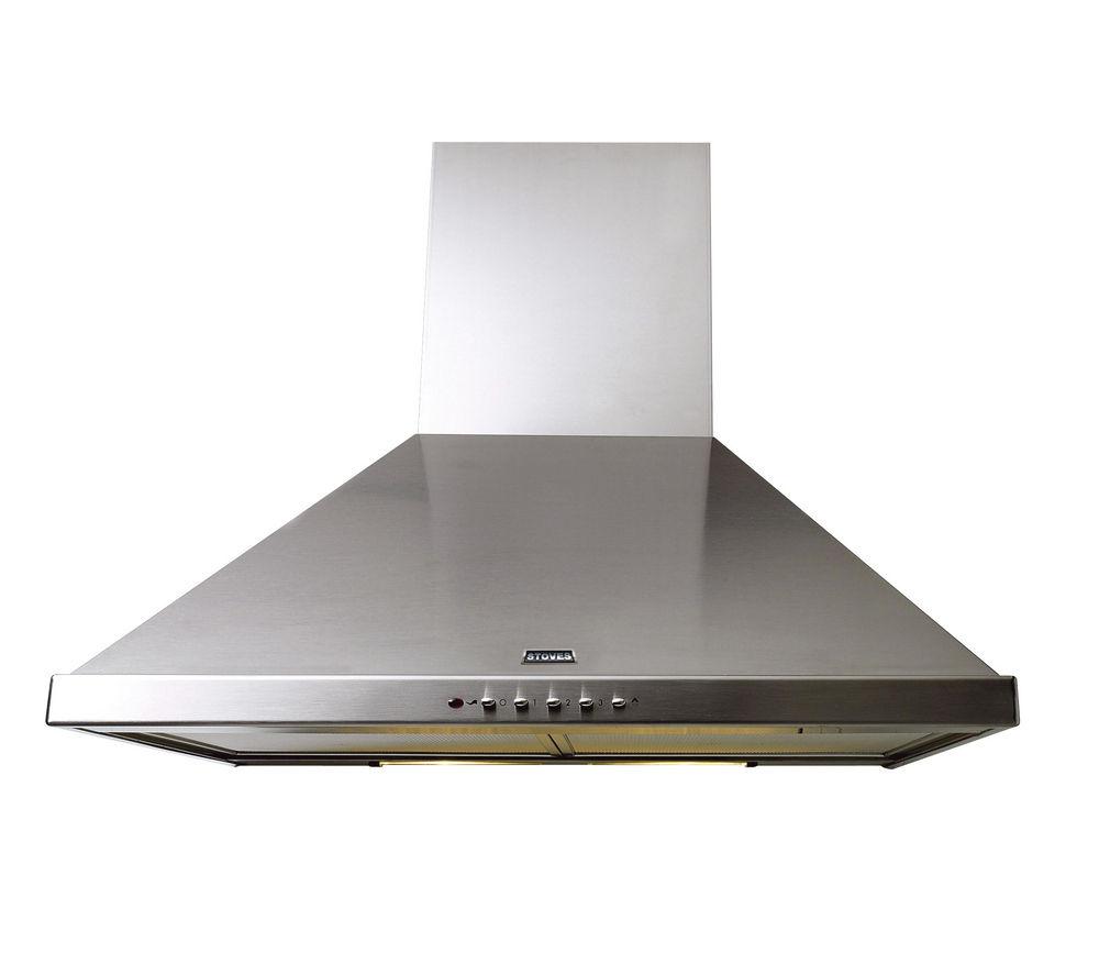 buy stoves s600 chimney cooker hood stainless steel. Black Bedroom Furniture Sets. Home Design Ideas