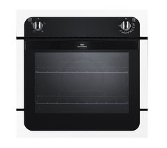 NEW WORLD NW601F Electric Oven - Black & White