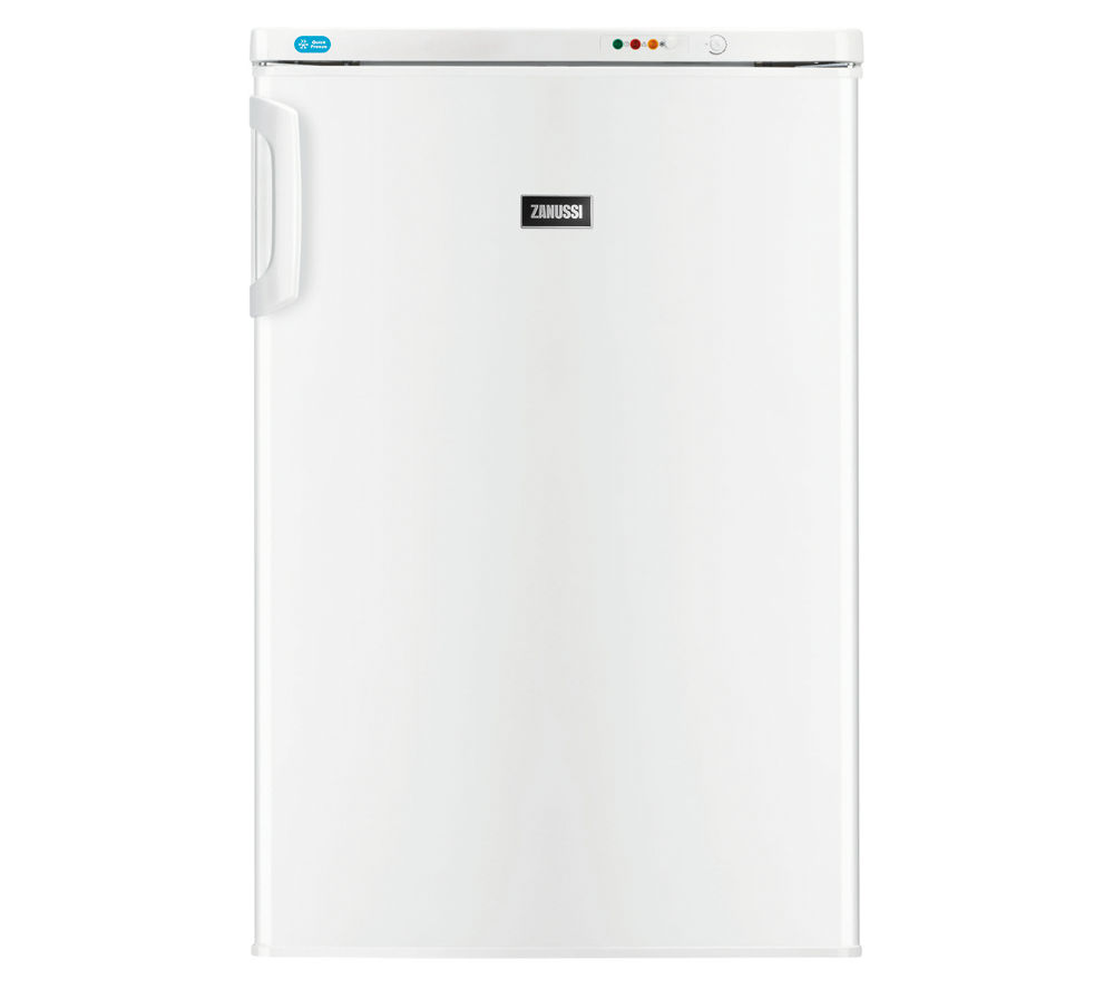 ZANUSSI  ZFT11110WA Undercounter Freezer - White +  ZDH8333W Heat Pump Tumble Dryer - White