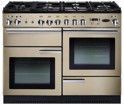RANGEMASTER Professional+ 110 Gas Range Cooker - Cream & Chrome