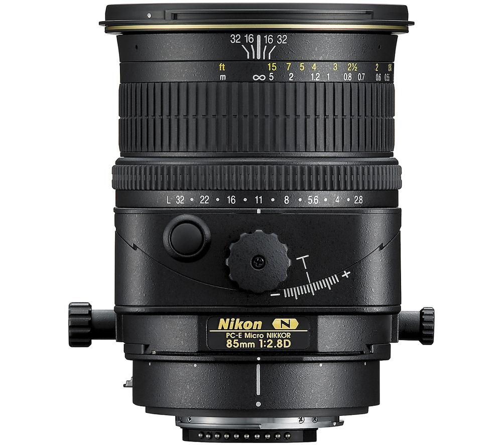 NIKON PC-E Micro NIKKOR 85 mm f/2.8 D ED Tilt-shift Lens