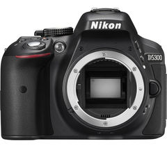 NIKON D5300 DSLR Camera - Black, Body Only