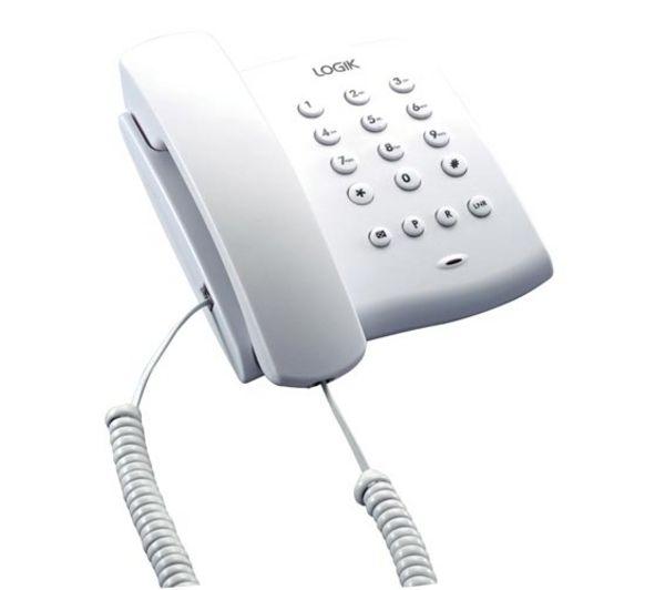 LOGIK L02CTEL10 Corded Phone