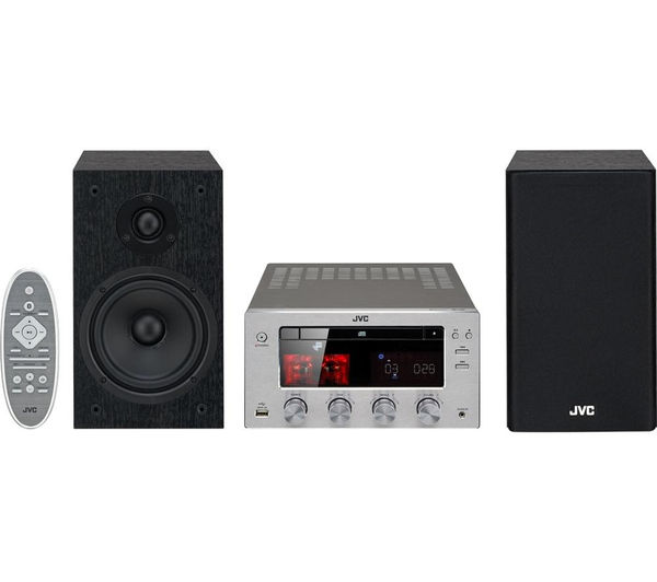 Image of JVC UX-D150 Wireless Traditional Hi-Fi System - USB Connector