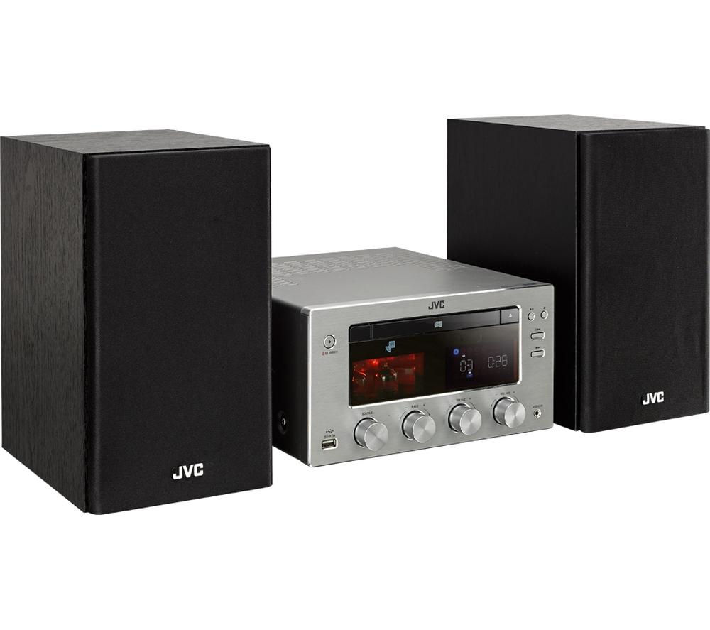 Click to view more of JVC  UX-D150 Wireless Traditional Hi-Fi System - USB Connector