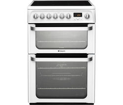 HOTPOINT Ultima HUE62PS Electric Ceramic Cooker - White
